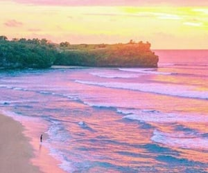 landscape, beach, and colorful image