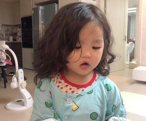 asian baby, pretty, and babygirl image