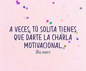 frases, a veces, and charla motivacional image