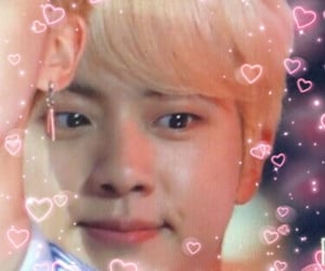 hearts, jin, and kpop image