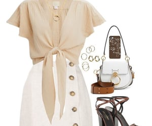 heels, jewelry, and purse image
