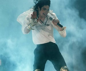 90s, king of pop, and michael jackson image