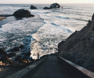 ocean, nature, and hipster image