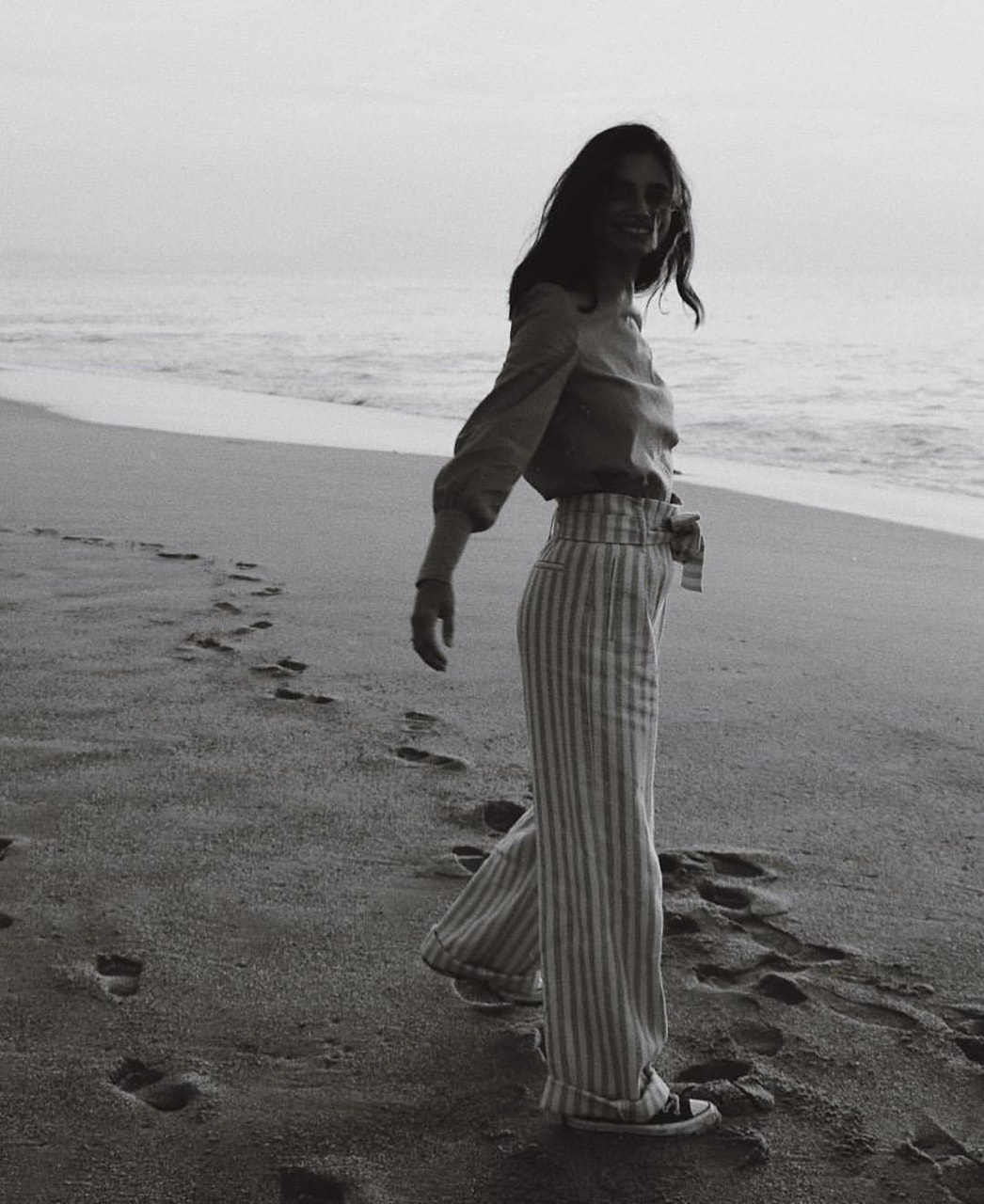 b&w, beach, and black white image