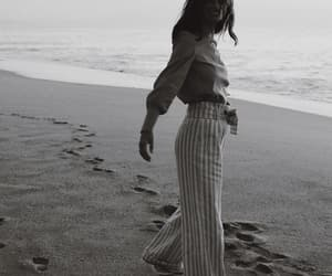 b&w, beach, and black white image