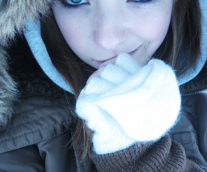 blue, blue eyes, and cold image