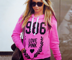 ashley tisdale, pink, and love pink image