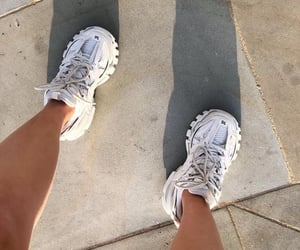 shoes sneakers, goal goals life, and basket footwear image