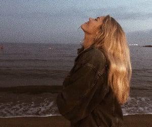 beach, girl, and aesthetic image