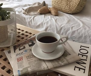coffee, aesthetic, and white image