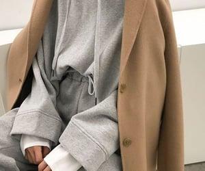 clothes, coat, and sweatpants image