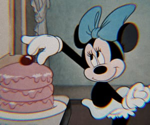 disney, minnie mouse, and cartoon image