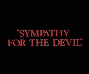 Devil and black image