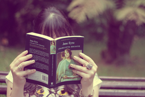 books, charlotte bronte, and jane eyre image