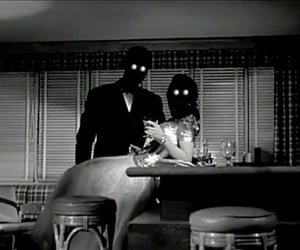 couple, creepy, and horror image