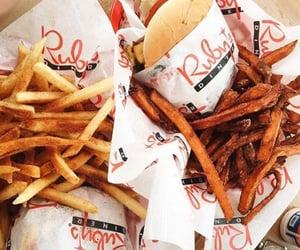 chips, diner, and drink image