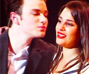 gif, rachel berry, and kurt hummel image
