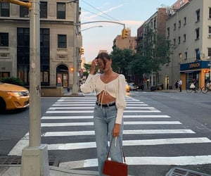 beauty, new york, and style image