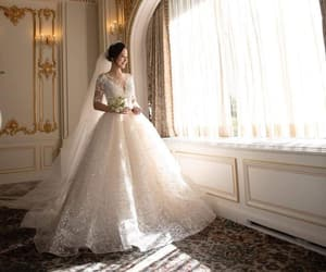bride, exo, and veil image