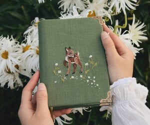 book, green, and vintage image