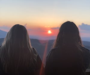 adventure, friendship, and nature image