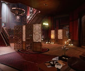 brown, screens, and dishonored image