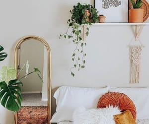 Love white decor with pops of orange.