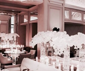 flowers, luxury, and rose gold image