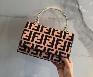 bag, fendi, and fashion image