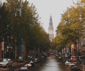 amsterdam, August, and canals image