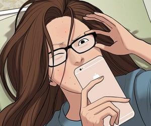 anime, korean, and meme image