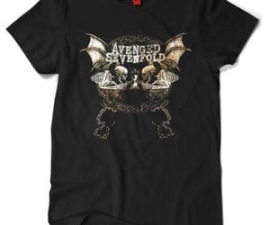 avenged sevenfold, merch, and t-shirt image