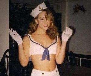 90s, costume, and Mariah Carey image