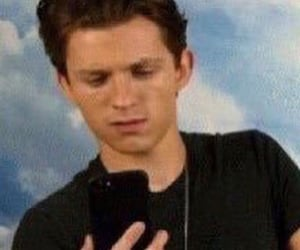 meme, tom holland, and reaction image