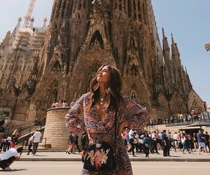 Barcelona, passport, and fashion image