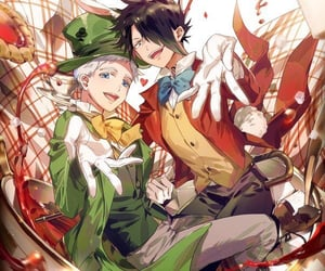 anime, ray, and norman image