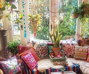 hippie, interior, and boho image