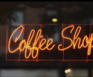 article, coffee shop, and coffee image