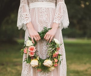 belleza, bridal, and elegancia image