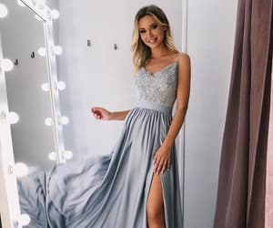 dresses, lace prom dresses, and prom dresses 2019 image