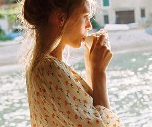 aesthetics, coffee, and dress image