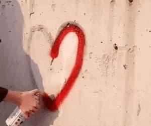 gif, graffiti, and rouge image