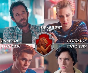 gryffindor and riverdale image