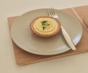 food, lemon tart, and tart image