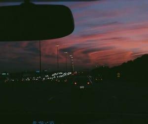sky, car, and light image