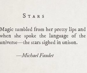 quotes, stars, and words image