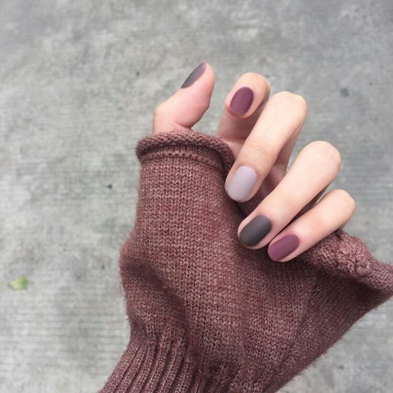 article, we heart it, and purple nails image