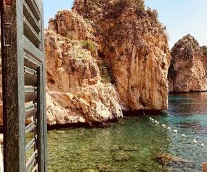 beach, mediterranean, and dreamy image
