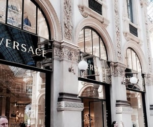 Versace, aesthetic, and building image