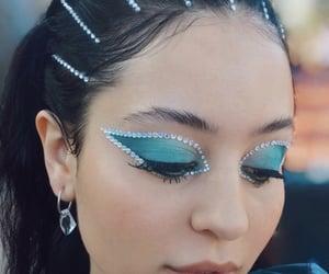 blue, euphoria, and makeup image